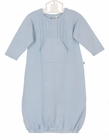 "<img src=""https://p11.secure.hostingprod.com/@grammies-attic.com/ssl/images/blue-sold-1.gif""> NEW Angel Dear Blue Cotton Cable Knit Gown"