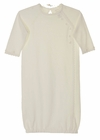 NEW Angel Dear Ivory Soft Cotton Knit Gown