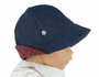 NEW Beaufort  Bucket Hat in Denim and Red Plaid