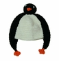 "<img src=""https://p11.secure.hostingprod.com/@grammies-attic.com/ssl/images/blue-sold-1.gif""> NEW Black and White Knit Penguin Hat for Babies and Toddlers"