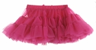 NEW Bright Pink Ruffled Tutu Style Pettiskirt with Attached Diaper Cover