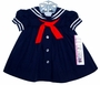 "<img src=""https://p11.secure.hostingprod.com/@grammies-attic.com/ssl/images/blue-sold-1.gif""> NEW C. I. Castro Navy Sailor Dress for Little Girls"