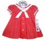 NEW C. I. Castro Red Checked Sailor Dress for Little Girls