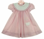 NEW Chabre Pink Checked Birthday Dress with Cupcake Applique