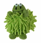 """<img src=""""https://p11.secure.hostingprod.com/@grammies-attic.com/ssl/images/blue-sold-1.gif""""> NEW Chenille Green Baby Frog Rattle"""