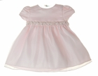 """<img src=""""https://p11.secure.hostingprod.com/@grammies-attic.com/ssl/images/blue-sold-1.gif""""> NEW Cinderella Pink Satin and Organdy Dress with Beading, Sequins,and Pearls"""
