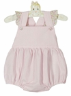 NEW Claire and Charlie by Anavini Vintage Style Pink Seersucker Sunsuit
