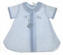 NEW Feltman Brothers Pale Blue Daygown with Embroidered Train
