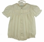 "<img src=""https://p11.secure.hostingprod.com/@grammies-attic.com/ssl/images/blue-sold-1.gif""> NEW Feltman Brothers Pale Yellow Bubble with Pintucks, Embroidery, and Lace"