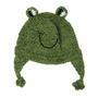 "<img src=""https://p11.secure.hostingprod.com/@grammies-attic.com/ssl/images/blue-sold-1.gif""> NEW Green Knit Frog Hat for Babies and Toddlers"