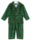 NEW Green Plaid Pajamas for Babies, Toddlers, Little Boys, and Big Boys