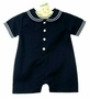 NEW Imagewear Dark Navy Cotton Sailor Suit with White Trim