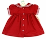 NEW Imagewear Red Cotton Sailor Dress with White Trim