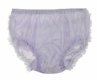 NEW Lavender Nylon Diaper Cover /Panty with Ruffled Bottom