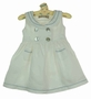 NEW Little Linens White Sleeveless Sailor Dress with Blue Trim