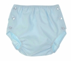 NEW Lullaby Set Blue Buttoned Diaper Cover