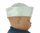 NEW Pearl (Pale Ivory) Silk Sailor Hat