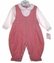"<img src=""https://p11.secure.hostingprod.com/@grammies-attic.com/ssl/images/blue-sold-1.gif""> NEW Petit Ami Red Checked Romper with Pintucks"