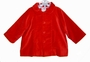 "<img src=""https://p11.secure.hostingprod.com/@grammies-attic.com/ssl/images/blue-sold-1.gif""> NEW Petit Ami Red Velvet Coat with Matching Hat for Boys"