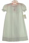 NEW Petit Ami White Daygown with Lamb Embroidery and Pink Trim