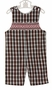 NEW Petit Bebe by Anavini Red Plaid Smocked Longall