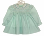 "<img src=""https://p11.secure.hostingprod.com/@grammies-attic.com/ssl/images/blue-sold-1.gif"">  NEW Polly Flinders Green Dotted Dress with Lace Trim"