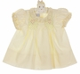 "<img src=""https://p11.secure.hostingprod.com/@grammies-attic.com/ssl/images/blue-sold-1.gif""> NEW Polly Flinders Palest Yellow Smocked Dress"