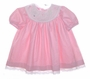 NEW Polly Flinders Pink Toddler Dress with Spring Embroidery