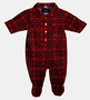 "<img src=""https://p11.secure.hostingprod.com/@grammies-attic.com/ssl/images/blue-sold-1.gif""> NEW Red Plaid Footed Pajamas for Baby Boys"