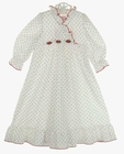 """<img src=""""https://p11.secure.hostingprod.com/@grammies-attic.com/ssl/images/blue-sold-1.gif""""> NEW Red Rosebud Print Nightgown for Babies"""