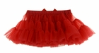NEW Red Ruffled Tutu Style Pettiskirt with Attached Diaper Cover/Panty