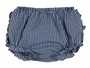 NEW Rosalina Navy Checked Gingham Ruffle Bottom Diaper Cover