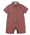 NEW Rosalina Red Checked Shortall