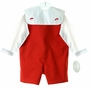 "<img src=""https://p11.secure.hostingprod.com/@grammies-attic.com/ssl/images/blue-sold-1.gif"">  NEW Rosalina Red Reversible Shortall and Shirt Set with Removable Holiday Collar"
