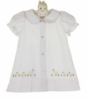 NEW Rosalina White Daygown with Embroidered Ducks