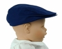 NEW Royal Blue Cotton Newsboy Style Hat