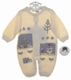 "<img src=""https://p11.secure.hostingprod.com/@grammies-attic.com/ssl/images/blue-sold-1.gif""> NEW Sarah Louise Cream Sweater Knit Romper with Holiday Appliques and Embroidery"