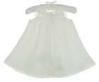 NEW Sarah Louise Ivory Chiffon Dress with Pearl Accented Bow