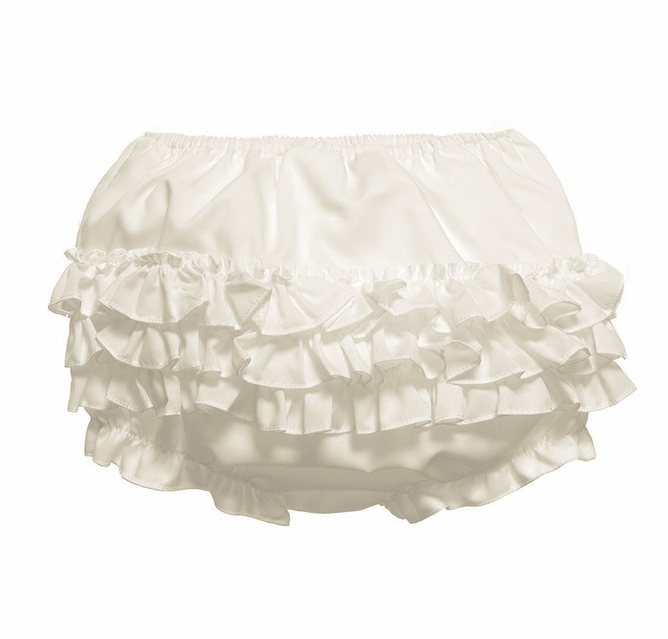 Collections Baby Girls Pink Rumba Diaper Cover Bloomers I.C Size L