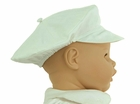 NEW Sarah Louise Ivory Linen Newsboy Style Hat