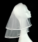 NEW Sarah Louise Veil with Embroidered Cross