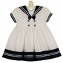 "<img src=""https://p11.secure.hostingprod.com/@grammies-attic.com/ssl/images/blue-sold-1.gif"">  NEW Sarah Louise White Pintucked Sailor Dress with Navy Trim"