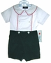 "<img src=""https://p11.secure.hostingprod.com/@grammies-attic.com/ssl/images/blue-sold-1.gif""> NEW Simi Green Corduroy Button On Shorts Set with White Shirt"