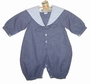 "<img src=""https://p11.secure.hostingprod.com/@grammies-attic.com/ssl/images/blue-sold-1.gif""> NEW Sophie Dess Navy Checked Sailor Suit with White Collar"