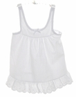 NEW Tea Length Bishop Style Slip with Adjustable Straps for Babies, Toddlers, and Little Girls