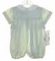 """<img src=""""https://p11.secure.hostingprod.com/@grammies-attic.com/ssl/images/blue-sold-1.gif""""> NEW Victorian Heirlooms Pale Green Baby Bubble with White Collar"""