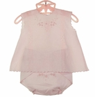 """<img src=""""https://p11.secure.hostingprod.com/@grammies-attic.com/ssl/images/blue-sold-1.gif""""> NEW Will'Beth Pink Cotton Diaper Set with Embroidered Diaper Cover"""