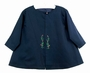 "<img src=""https://p11.secure.hostingprod.com/@grammies-attic.com/ssl/images/blue-sold-1.gif""> NEW Willbeth Navy Coat with Red and Green Embroidery"