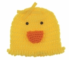 NEW Yellow Crocheted Duck Hat for Baby Girls