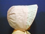 "<img src=""https://p11.secure.hostingprod.com/@grammies-attic.com/ssl/images/blue-sold-1.gif""> Pink Vintage 1950s Bonnet with Rosebuds"